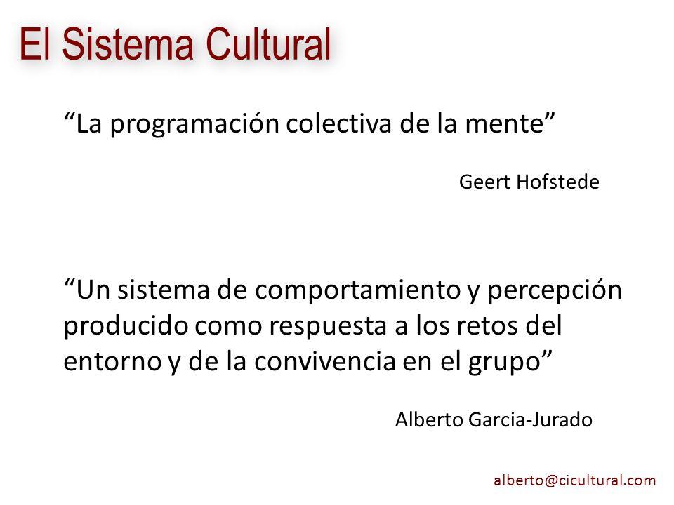 El Sistema Cultural La programación colectiva de la mente
