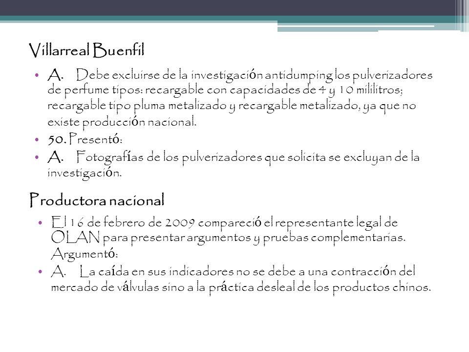 Villarreal Buenfil Productora nacional