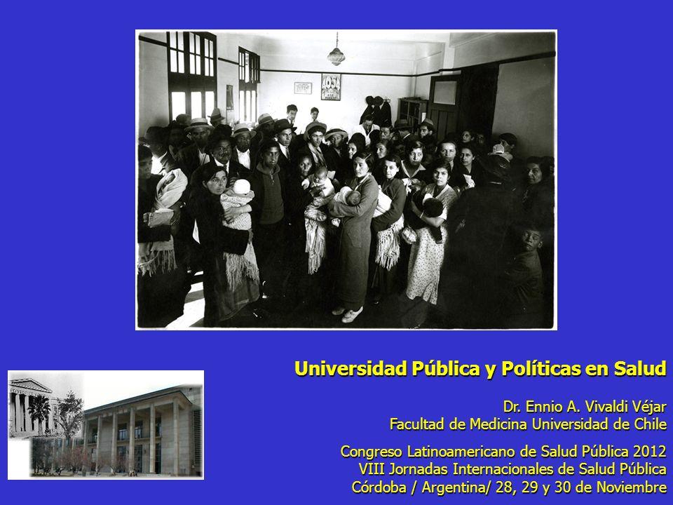 Universidad Pública y Políticas en Salud