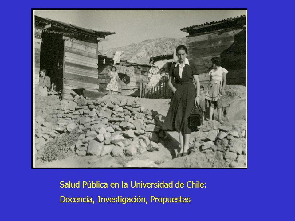 Salud Pública en la Universidad de Chile: