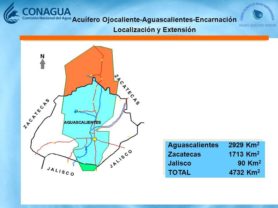 Acuífero Ojocaliente-Aguascalientes-Encarnación