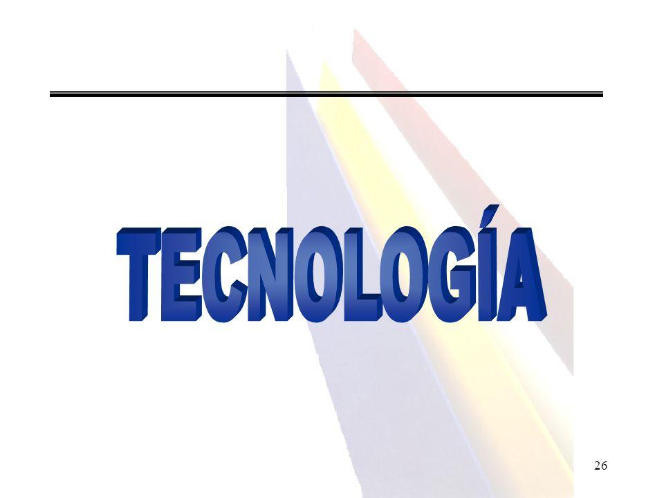 TECNOLOGÍA 26 26