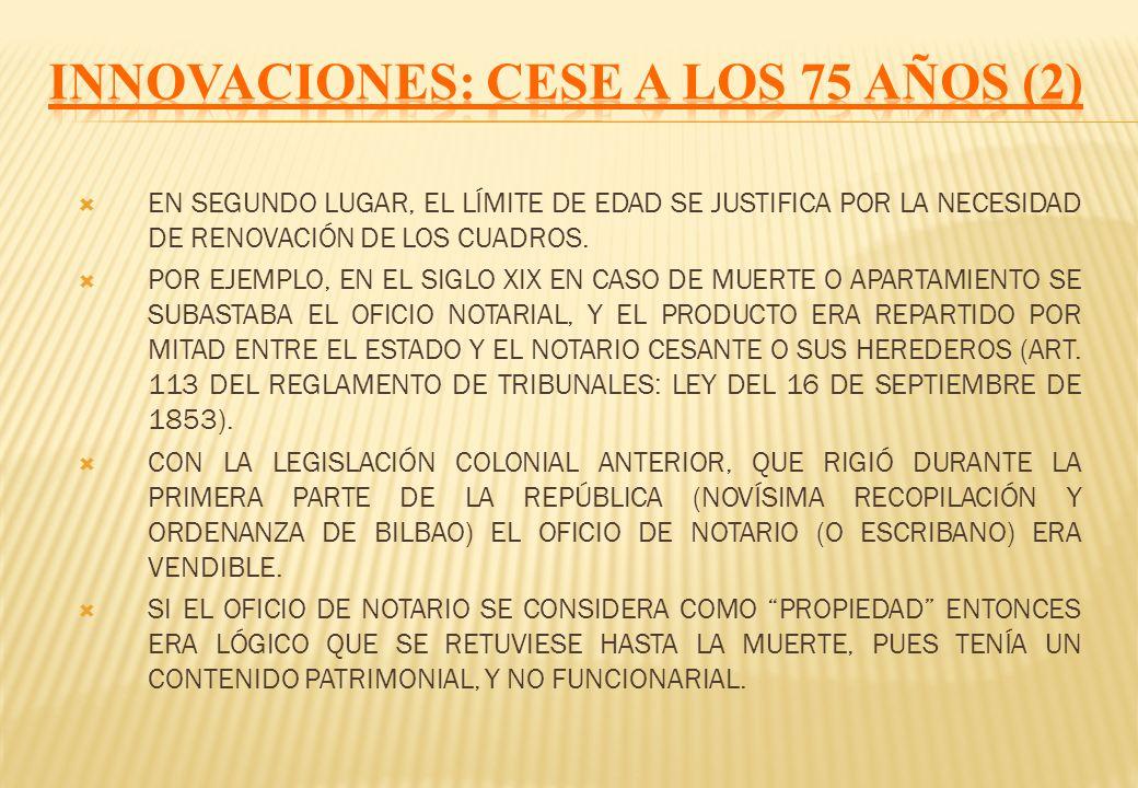 INNOVACIONES: CESE A LOS 75 AÑOS (2)