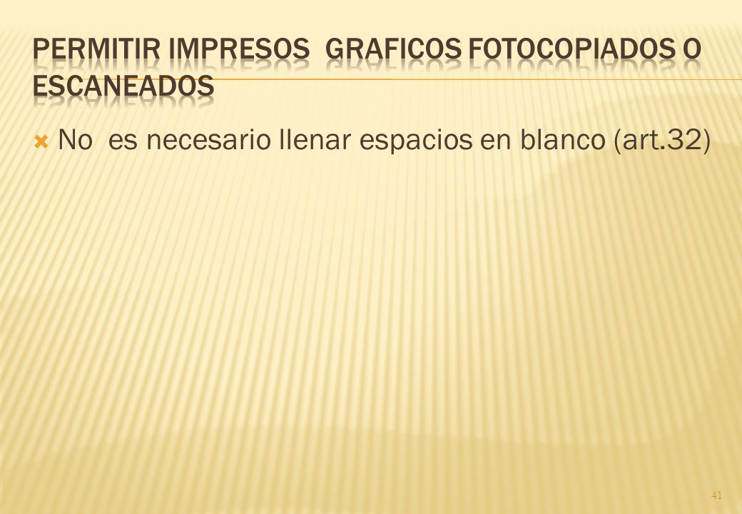 Permitir impresos graficos fotocopiados o escaneados