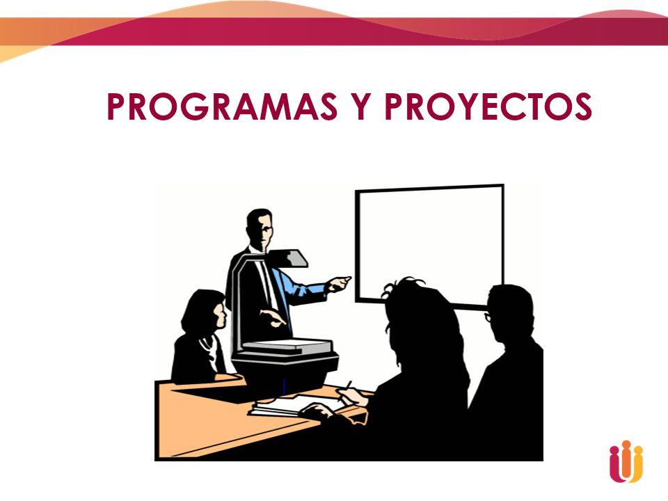 PROGRAMAS Y PROYECTOS