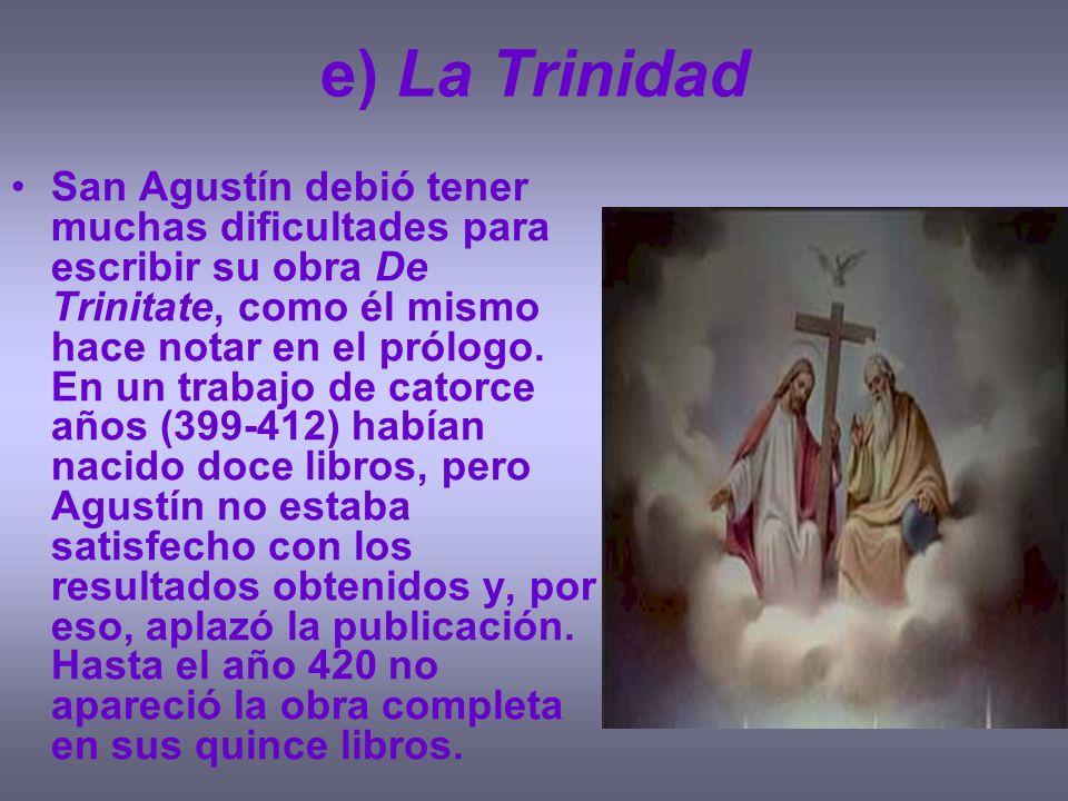 e) La Trinidad