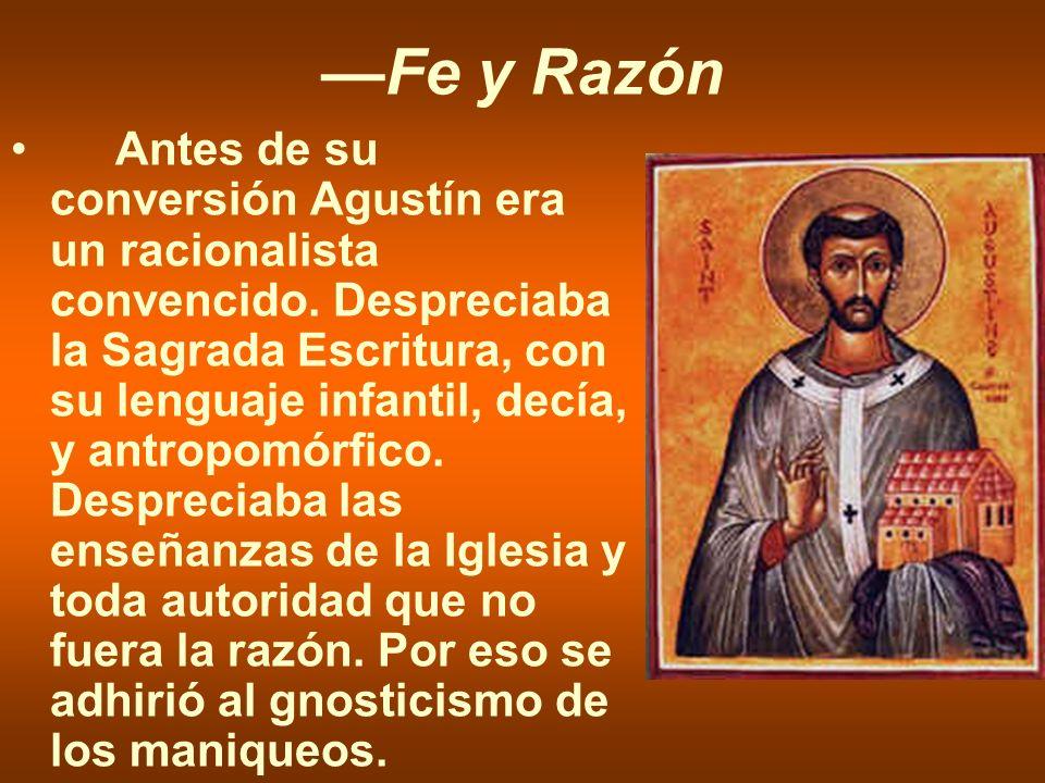 —Fe y Razón