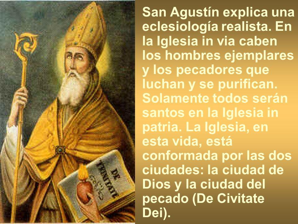 San Agustín explica una eclesiología realista