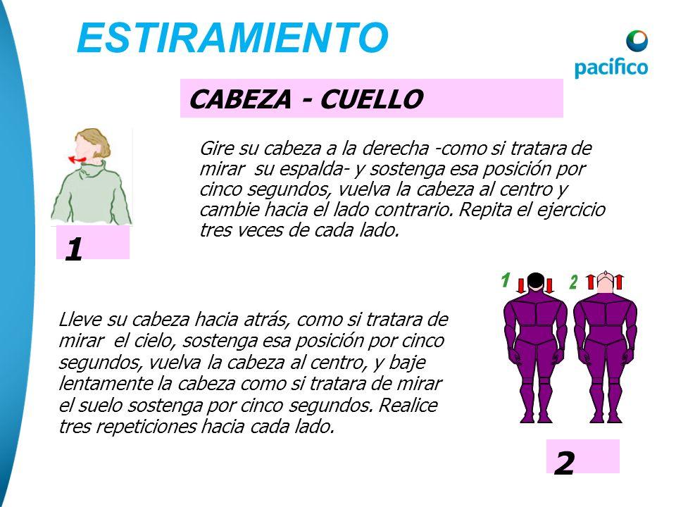 ESTIRAMIENTO 1 1 2 CABEZA - CUELLO