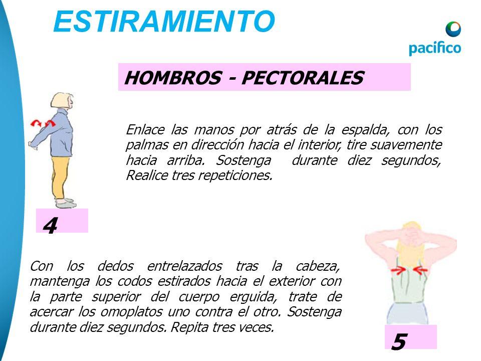 ESTIRAMIENTO 4 5 HOMBROS - PECTORALES
