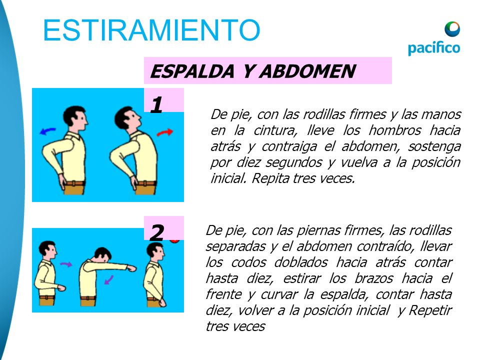 ESTIRAMIENTO 1 2 ESPALDA Y ABDOMEN