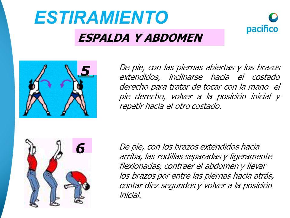 ESTIRAMIENTO 5 6 ESPALDA Y ABDOMEN