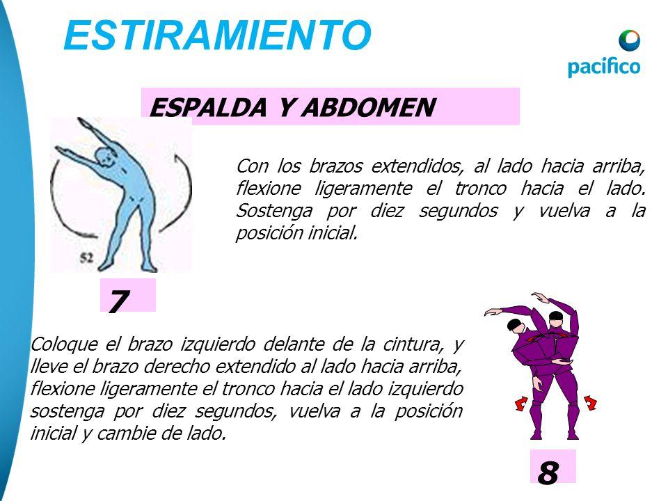 ESTIRAMIENTO 3 7 8 ESPALDA Y ABDOMEN