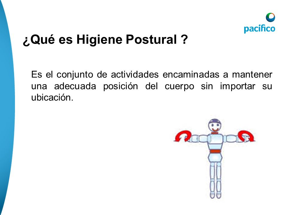 ¿Qué es Higiene Postural