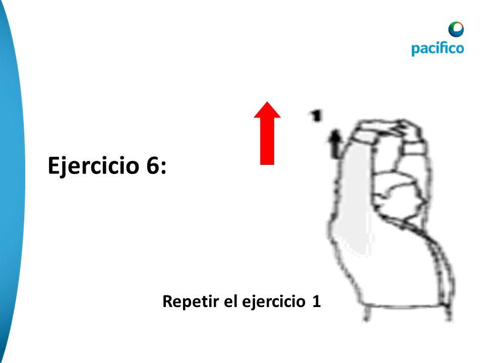 Ejercicio 6: Repetir el ejercicio 1