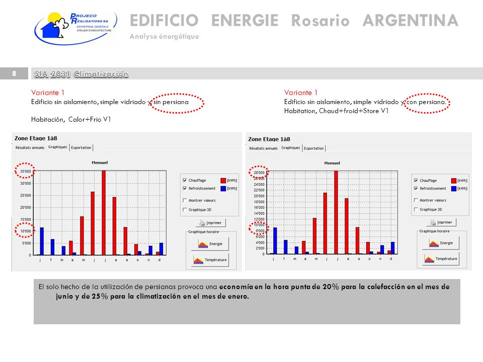 SIA 2031 Climatización Variante 1 Variante 1