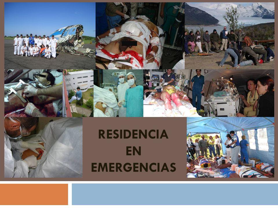 Residencia en emergencias