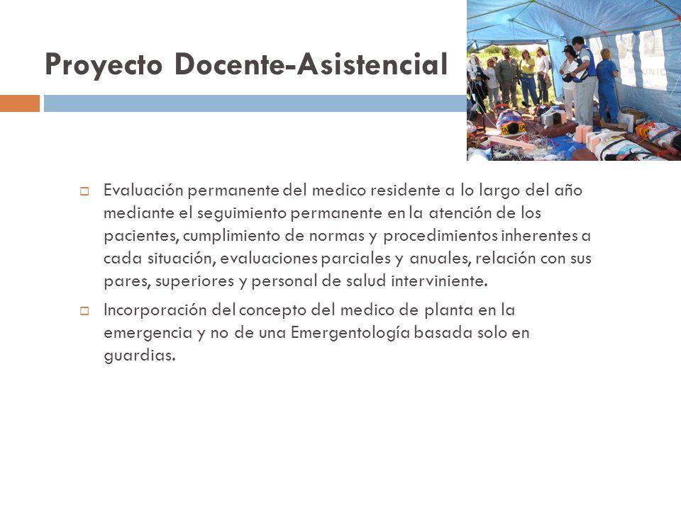 Proyecto Docente-Asistencial