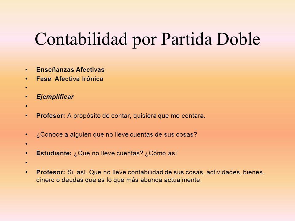 Contabilidad por Partida Doble