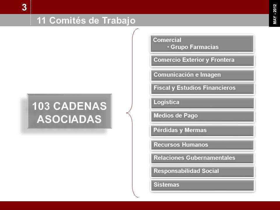 103 CADENAS ASOCIADAS 3 11 Comités de Trabajo Comercial