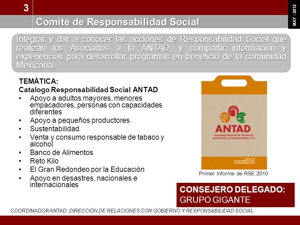 Comité de Responsabilidad Social