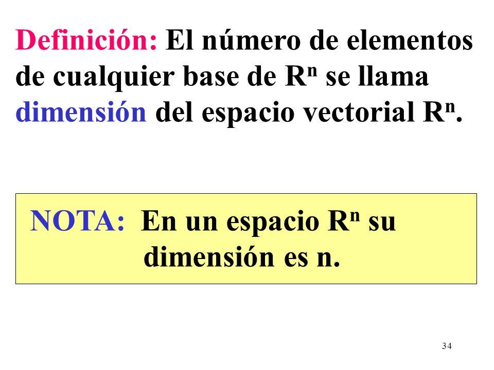 Definición: El número de elementos