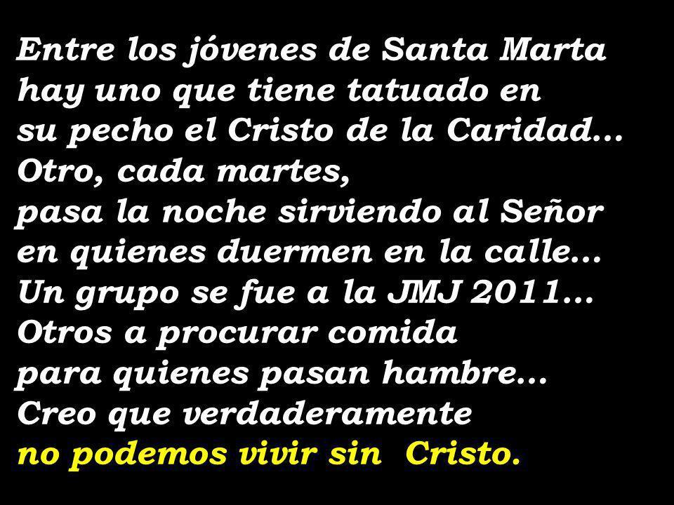 Entre los jóvenes de Santa Marta