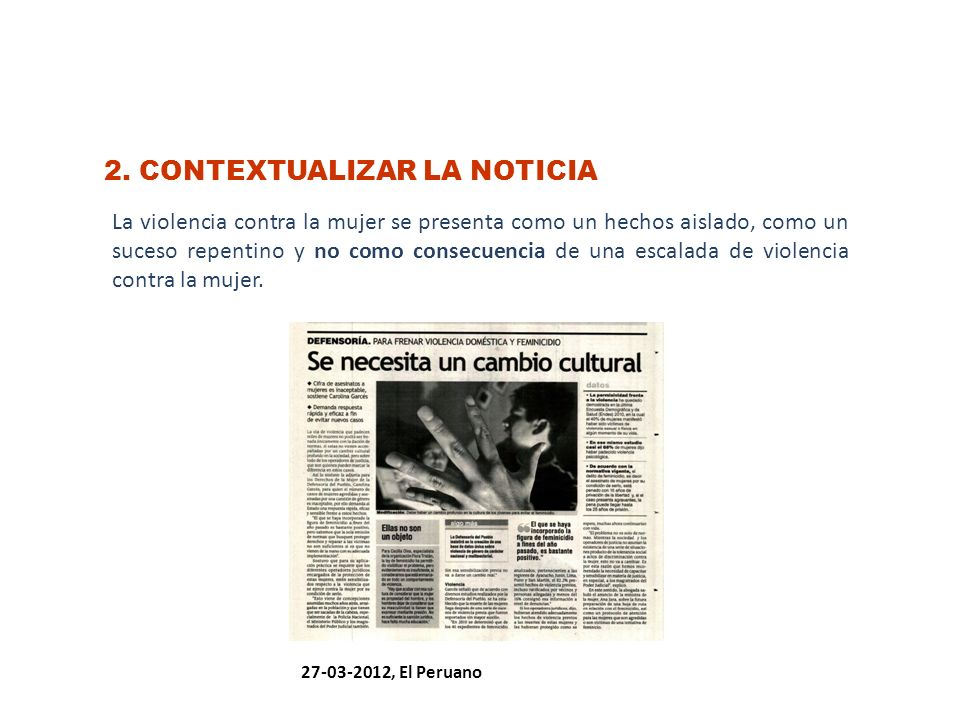 2. CONTEXTUALIZAR LA NOTICIA
