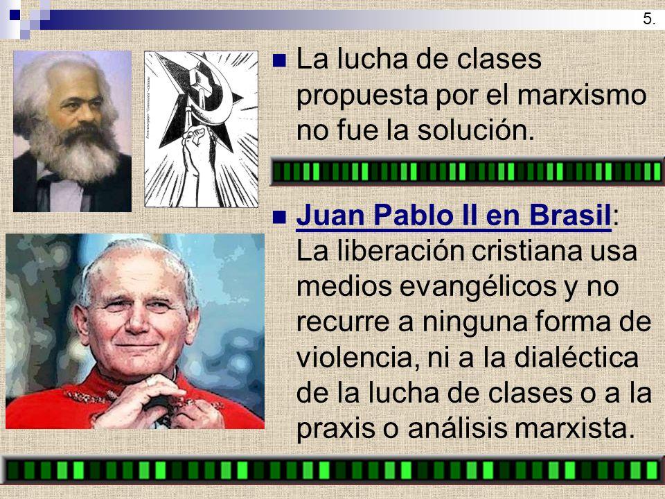 La lucha de clases propuesta por el marxismo no fue la solución.