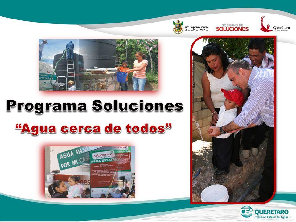 Programa Soluciones Agua cerca de todos