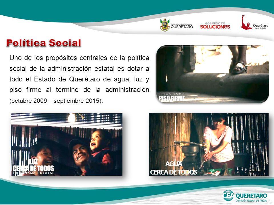 Política Social AGUA CERCA DE TODOS