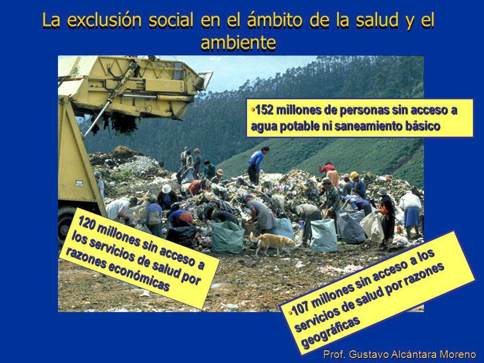 La exclusión social en el ámbito de la salud y el ambiente
