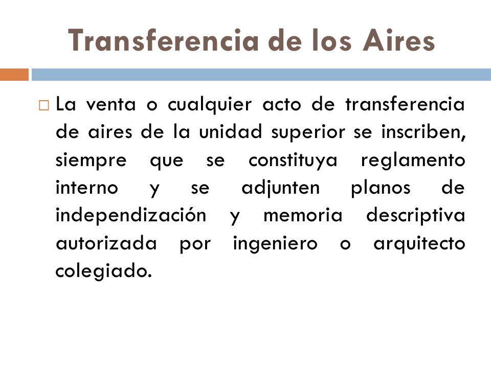 Transferencia de los Aires