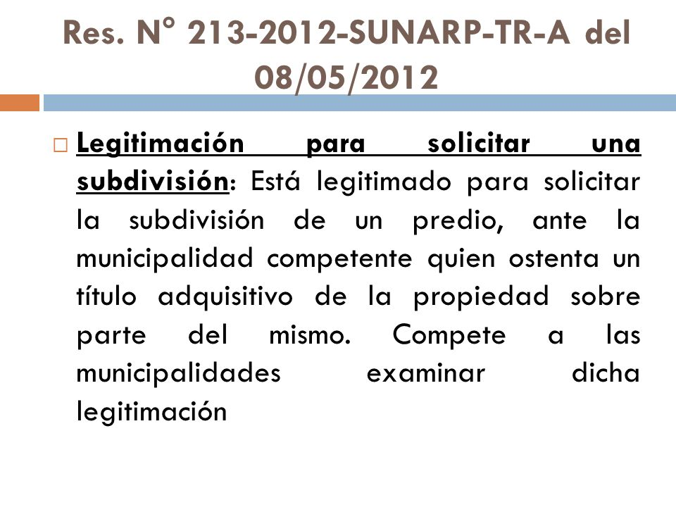 Res. N° 213-2012-SUNARP-TR-A del 08/05/2012