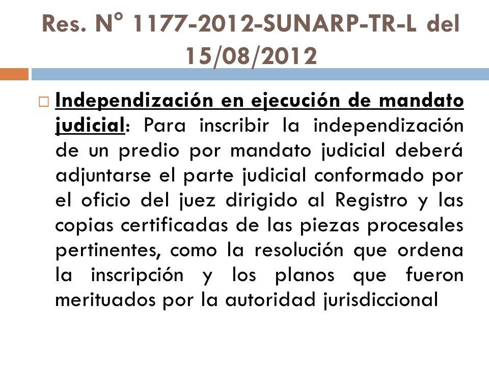 Res. N° 1177-2012-SUNARP-TR-L del 15/08/2012