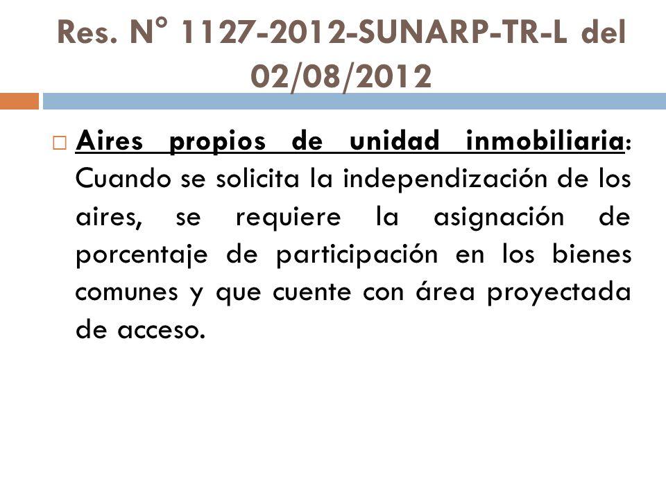 Res. N° 1127-2012-SUNARP-TR-L del 02/08/2012