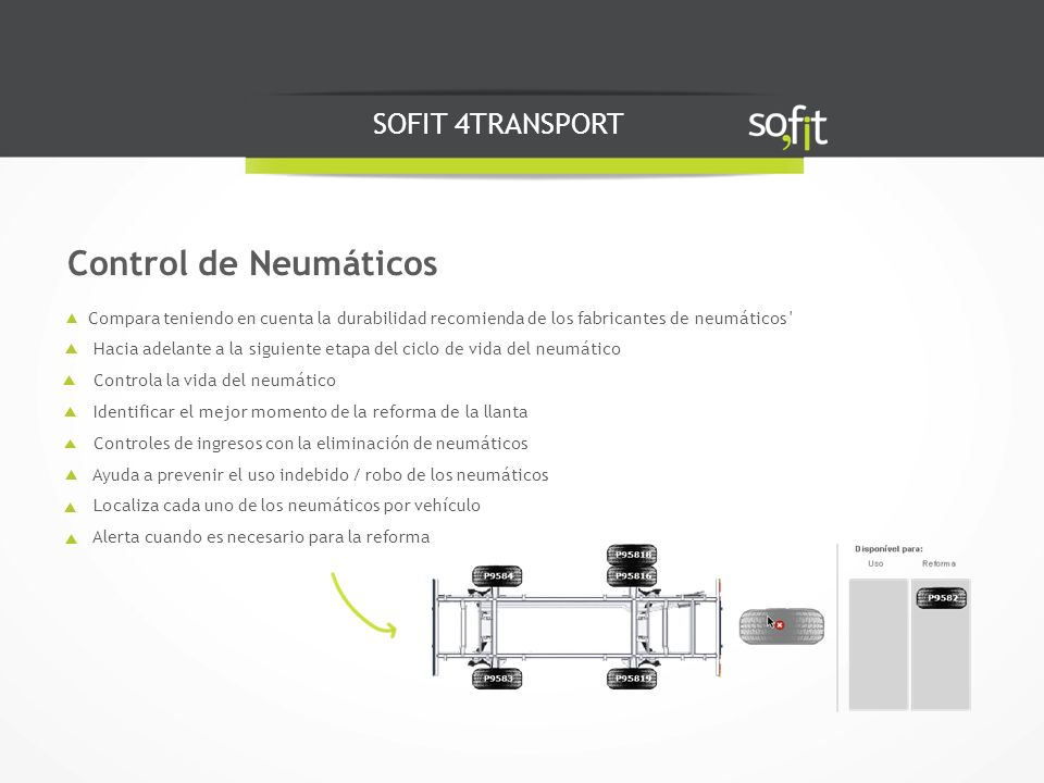 Control de Neumáticos SOFIT 4TRANSPORT
