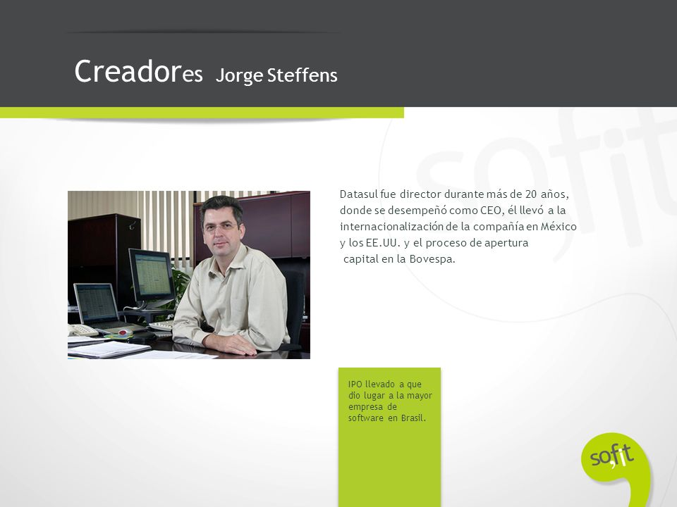 Creadores Jorge Steffens