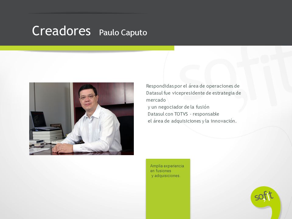 Creadores Paulo Caputo