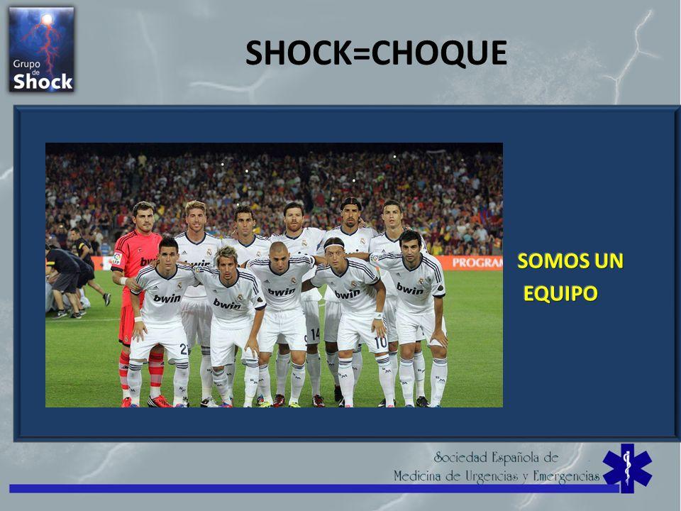 SHOCK=CHOQUE SOMOS UN EQUIPO