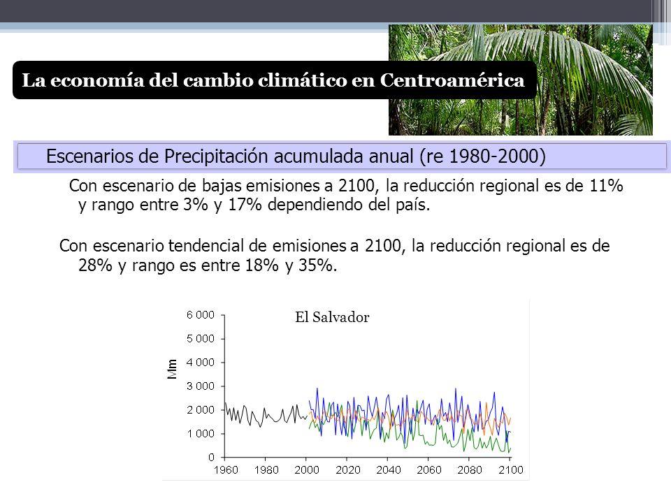 La economía del cambio climático en Centroamérica