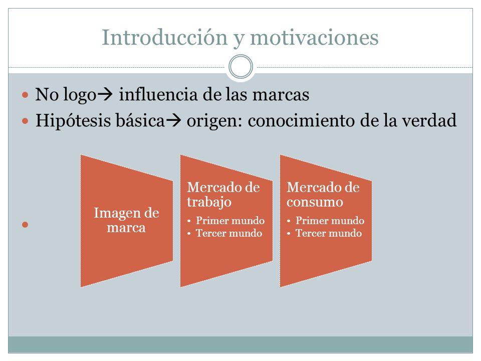 Introducción y motivaciones