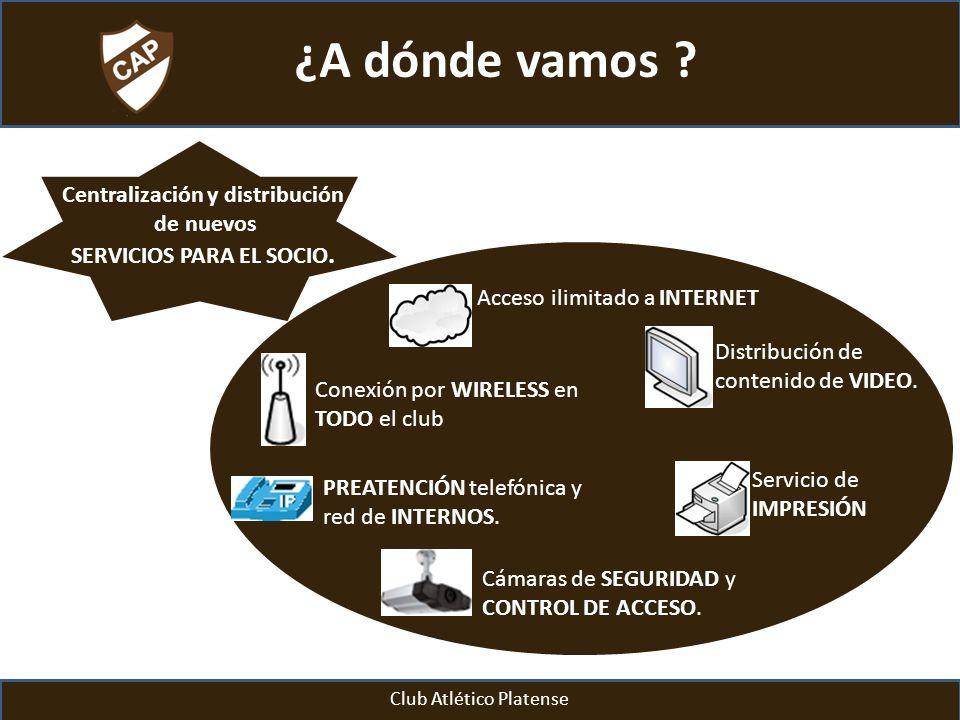 Centralización y distribución SERVICIOS PARA EL SOCIO.