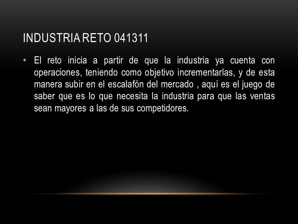 INDUSTRIa reto 041311