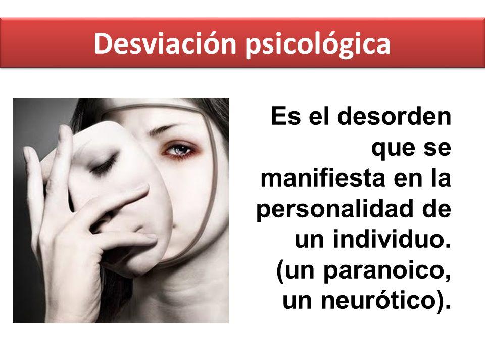 Desviación psicológica
