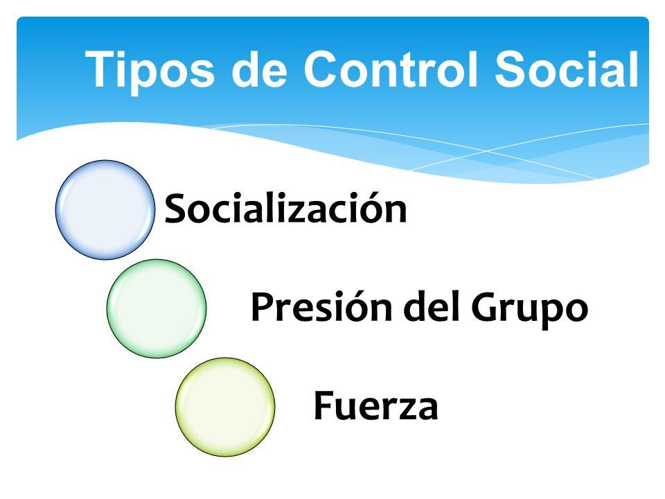 Tipos de Control Social