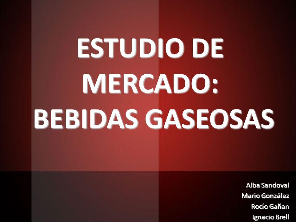 ESTUDIO DE MERCADO: BEBIDAS GASEOSAS