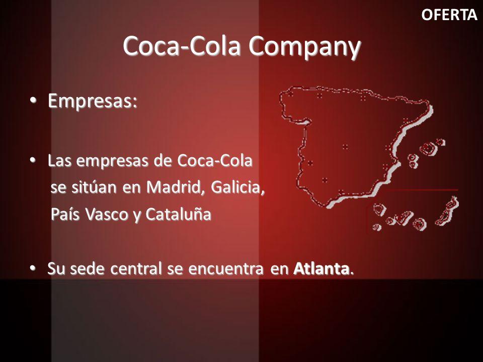 Coca-Cola Company Empresas: Las empresas de Coca-Cola