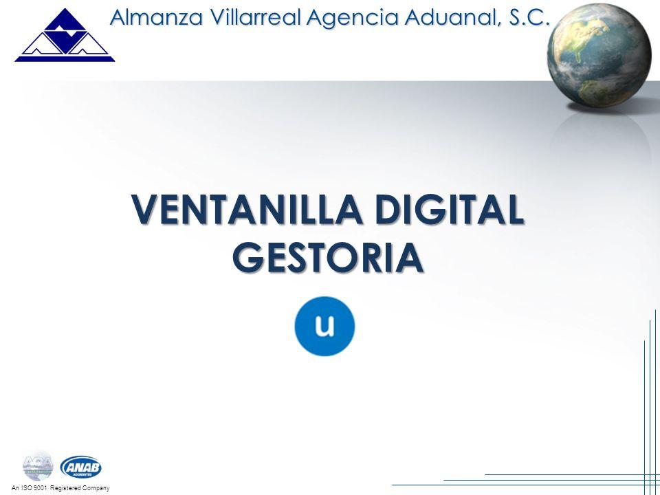 VENTANILLA DIGITAL GESTORIA