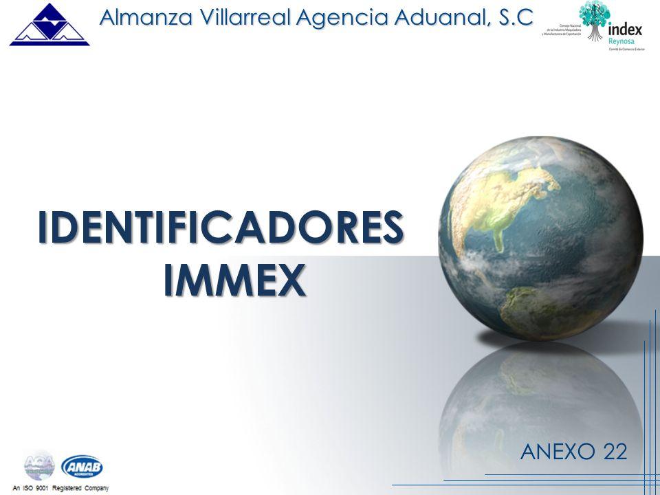 IDENTIFICADORES IMMEX